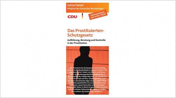 Das Prostituiertenschutzgesetz ist verabschiedet! Hier geht es zum Flyer